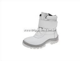 ba398aadf87f8 bota termica couro marluvas 70c32. bota branca com forro de lã para câmara  fria bompel. bota pvc forrada com la vulcabras